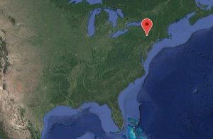 Location of Habitat Recovery and Kindness USA